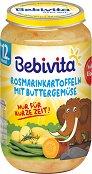 Bebivita - Пюре от картофи с розмарин и зеленчуци в масло - Бурканче от 250 g за бебета над 12 месеца - продукт