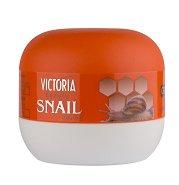 Victoria Beauty Snail Extract Softening Cream-Vaseline - Омекотяващ крем-вазелин за пети с екстракт от охлюви -