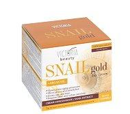 Victoria Beauty Snail Gold + Argan Oil Day Cream - Дневен крем с арганово масло и екстракт от охлюви -
