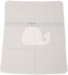 """Бебешко одеяло - Кит - С размери 70 x 90 cm от серията """"Juwel"""" - продукт"""