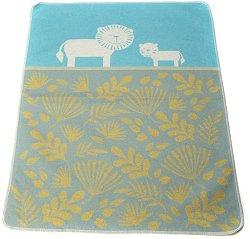 """Бебешко одеяло - Лъвчета - Размер 70 x 90 cm от серия """"Juwel"""" - продукт"""