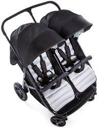 Комбинирана бебешка количка за близнаци - Rapid 3R Duo - С 4 колела - количка