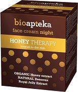 Bio Apteka Honey Therapy Face Night Cream -