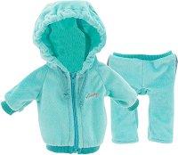 """Спортен екип - Мента - Комплект дрехи за плюшени играчки от серията """"Lucky Doggy"""" -"""