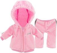 """Спортен екип - Розово - Комплект дрехи за плюшени играчки от серията """"Lucky Doggy"""" -"""