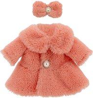 """Палто с аксесоар - Шик - Комплект дрехи за плюшени играчки от серията """"Lucky Doggy"""" -"""