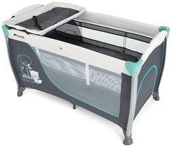 Сгъваемо бебешко легло на две нива - Sleep'n Play Center II: Forest Fun - Комплект с аксесоари -