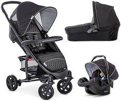Бебешка количка 3 в 1 - Malibu 4 Trio Set - С 4 колела -