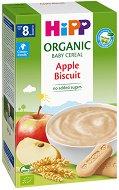 HIPP - Био инстантна безмлечна каша с ябълки и бисквити -