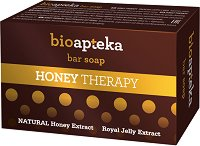 Bio Apteka Honey Therapy Bar Soap - Бар сапун с екстракти от мед и пчелно млечице - крем