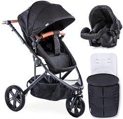 Бебешка количка 2 в 1 - Pacific 3 Shop N Drive - С 3 колела -