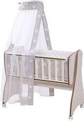 Спален комплект за детска люлка - First Dreams - 7 части -