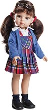"""Кукла ученичка Карол - 32 cm - От серията """"Paola Reina: Amigas"""" -"""