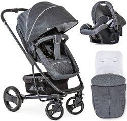 Бебешка количка 2 в 1 - Pacific 4 Shop N Drive - С 4 колела -