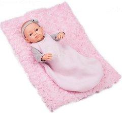 """Бебе момиченце  - кукла с розово одеяло - От серията """"Paola Reina: Mini Pikolines"""" -"""