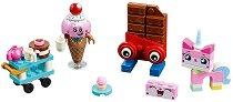 """Сладките приятели на Юникити - Детски конструктор от серията """"LEGO: Movie 2"""" - играчка"""