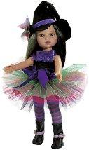 """Кукла Абигейл с костюм на вещица - 32 cm - От серията """"Paola Reina: Amigas"""" -"""