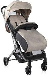 Лятна бебешка количка - Fiona - С 4 колела - столче за кола