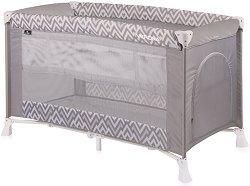 Сгъваемо бебешко легло на две нива - Verona 2 Layers 2019 - Комплект с повивалник -