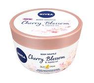 Nivea Cherry Blossom & Jojoba Oil Body Souffle - Суфле за тяло с масло от жожоба и аромат на черешов цвят - крем