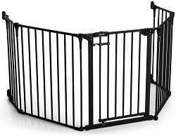 Преграда за врата с 5 модула - Fireplace Guard XL -