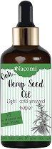 Nacomi Hemp Seed Oil - Конопено масло за коса, лице и тяло -