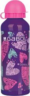 Детска алуминиева бутилка - Gabol: Dream 500 ml - несесер
