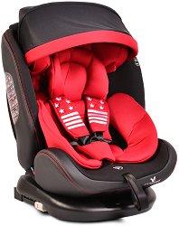 """Детско столче за кола - Pilot 2019 - За """"Isofix"""" система и деца от 0 месеца до 36 kg -"""