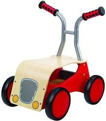 Мотор - Детска дървена играчка за яздене -