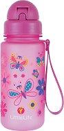 Детска бутилка - Пеперуди 400 ml - детска бутилка