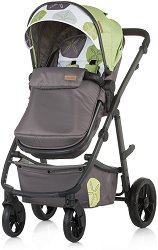 Комбинирана бебешка количка - Milo - С 4 колела -