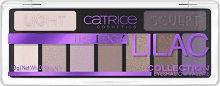Catrice The Edgy Lilac Eyeshadow Palette - Палитра с 9 цвята сенки за очи -
