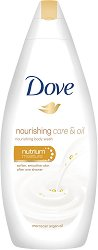 Dove Nourishing Care & Oil Shower Wash - крем