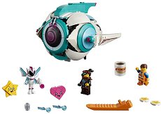 """Корабът на Сладък Хаос - Детски конструктор от серията """"LEGO: Movie 2"""" -"""