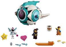 """Корабът на Сладък Хаос - Детски конструктор от серията """"LEGO: Movie 2"""" - продукт"""