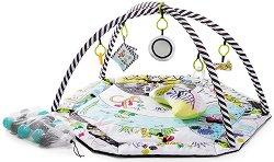 Активна гимнастика - SmartPlay - Комплект с 20 топки и възглавница за игра по корем -