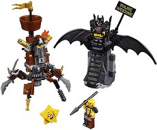 """Батман срещу Металната Брада - Детски конструктор от серията """"LEGO: Movie 2"""" - играчка"""