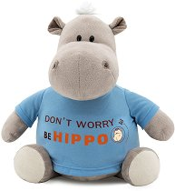 """Хипопотамът По - Бъди весел - Плюшена играчка от серията """"Orange Toys"""" -"""