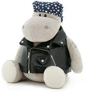 """Хипопотамът По - Моторист - Плюшена играчка от серията """"Orange Toys"""" -"""
