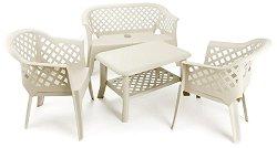 Комплект градински мебели - Ларио