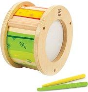Барабан - Детски дървен музикален инструмент - играчка