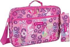 Чанта за рамо - Gabol: Linda - Комплект с несесер - несесер