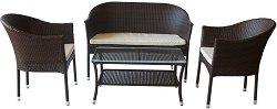 Комплект градински мебели - 350 - Имитация на ратан