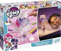 """Създай сам - Нощна лампа - Творчески комплект от серията """"My Little Pony"""" - пъзел"""
