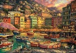 Пристанище в Италия - пъзел