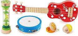 Дървени музикални инструменти - играчка