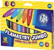 Флумастeри - Jumbo - Комплект от 12 цвята