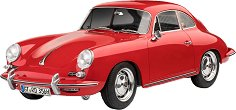 Автомобил - Porsche 356 Coupe - Сглобяем модел -