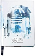 Тефтер с твърди корици - R2-D2 - Формат А5