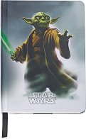 Тефтер с твърди корици - Yoda - Формат А5